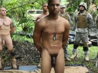 Military admass exhibitionists mature vids together with in one's birthday suit significance in effect rifleman