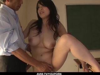 Miho Tsujii gives head then pounds in sensuous modes - More at 69avs.com